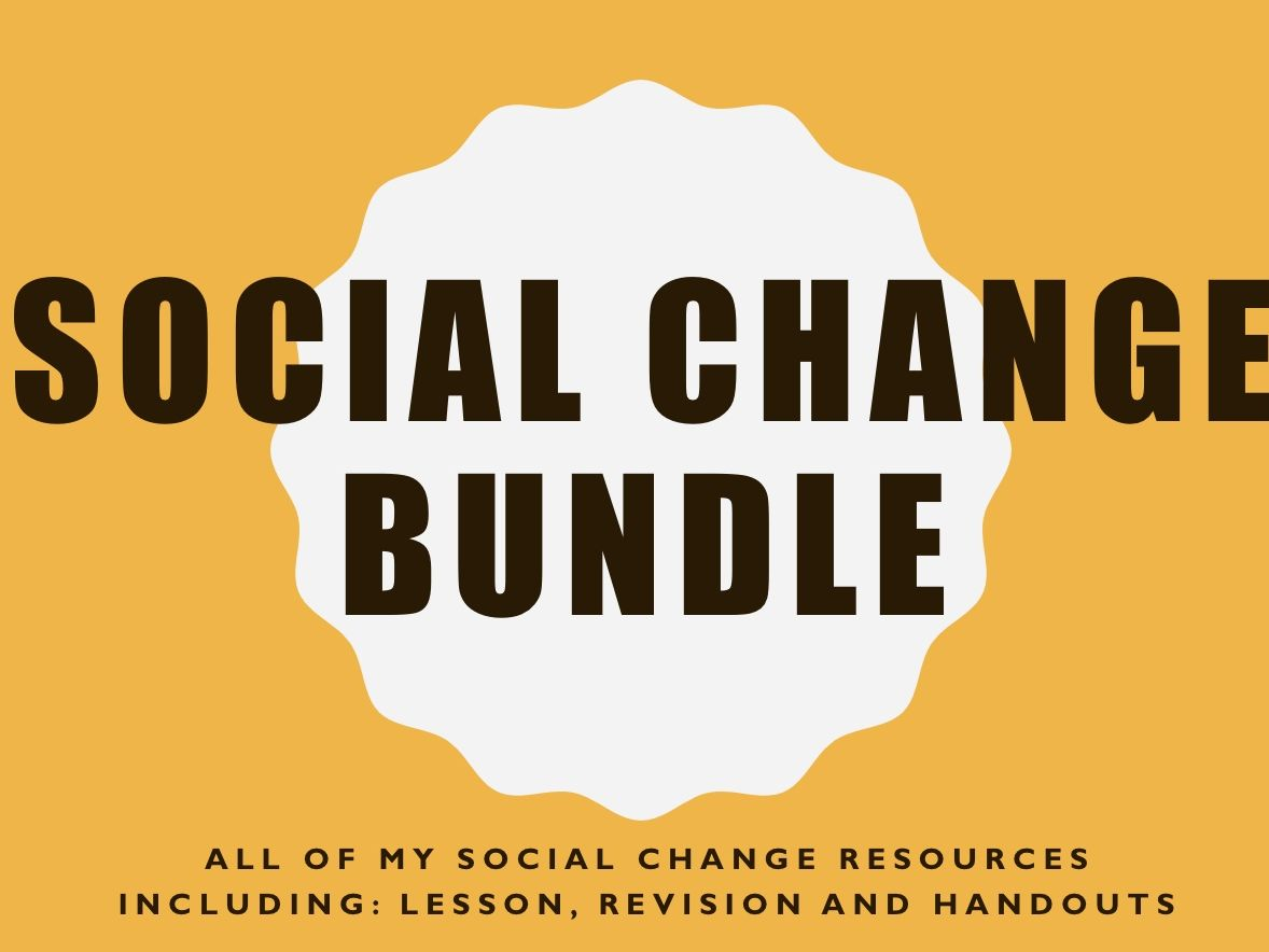 Social Change Bundle
