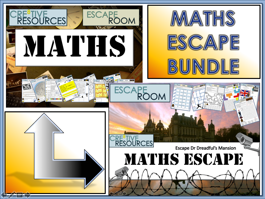Maths Escape Rooms - Christmas