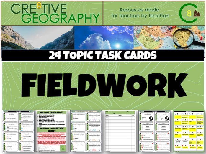 Fieldwork Geography Task Cards