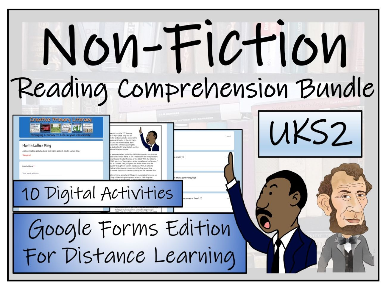 UKS2 Non-Fiction Collection; Volume 1 - Reading Comprehension & Distance Learning Bundle