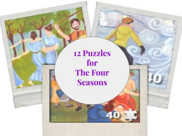 12 PUZZLES for «The Four Seasons»