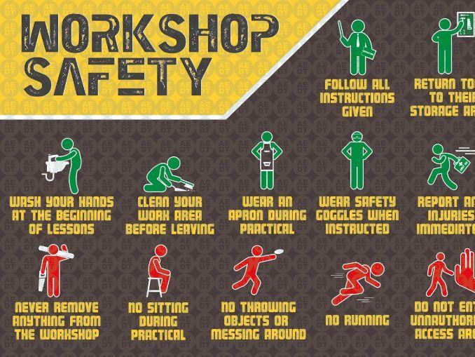 DT Workshop Safety - Poster