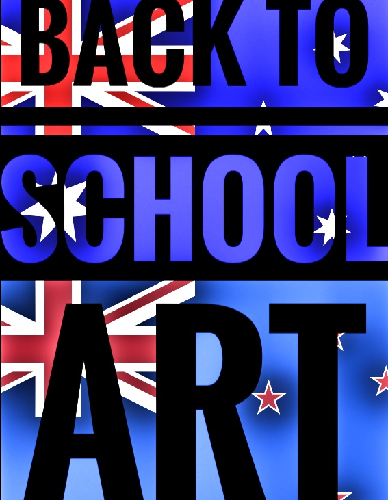 Art. Back to school - Australia and New Zealand. ART