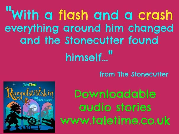 Listening Story + Read Along Text; The Stonecutter (Japanese Folktale)
