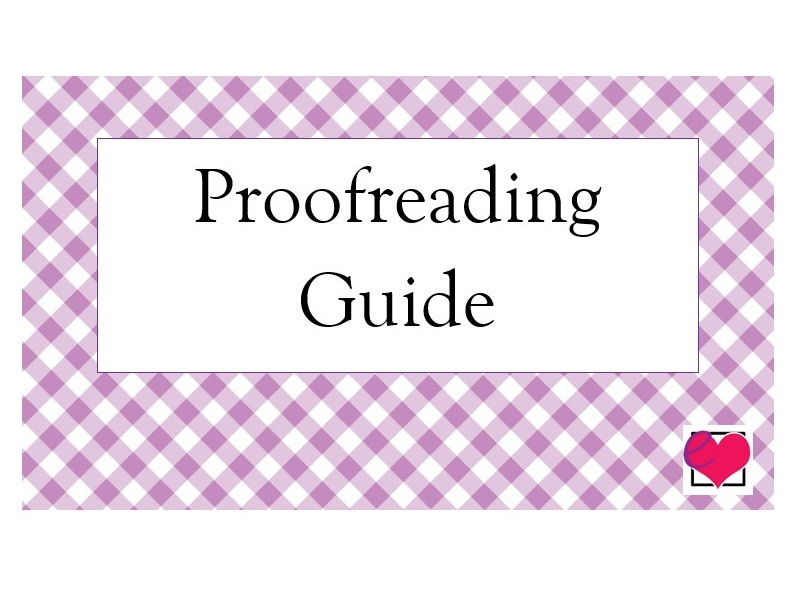 Proofreading Guide