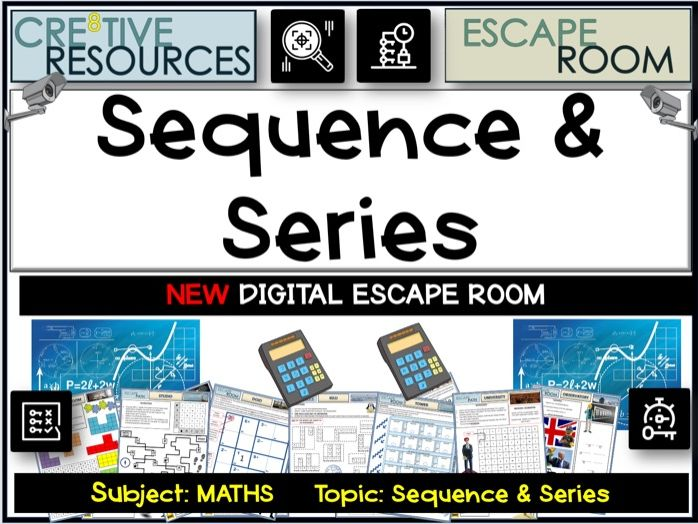 Maths Escape Room - Sequences and Series