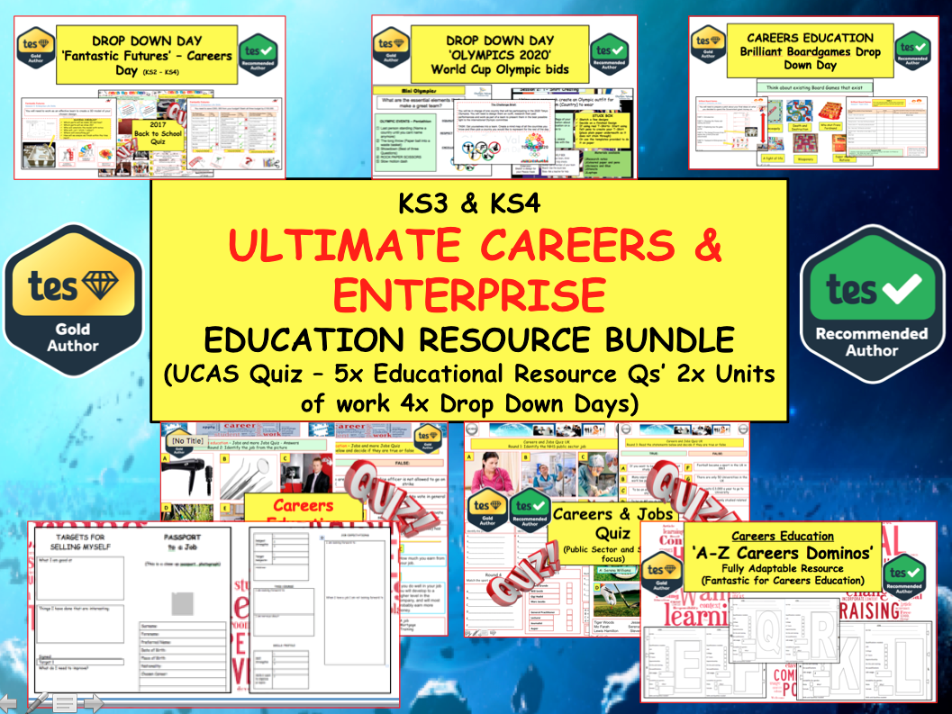 Ultimate Careers & Enterprise Education Resources Pack (KS3 - KS5)