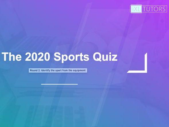 2020 Sports Quiz