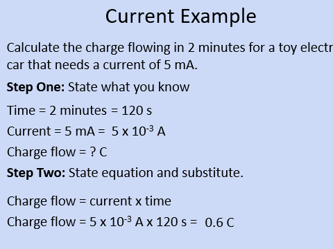 GCSE OCR Physics: Electrical Current