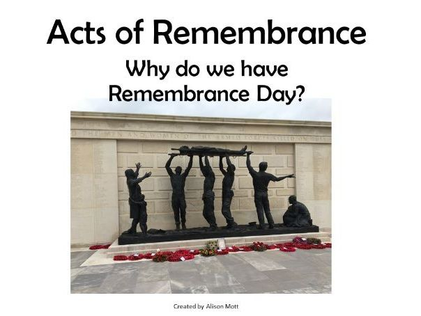 Why do we have Remembrance Day? and Animals at War