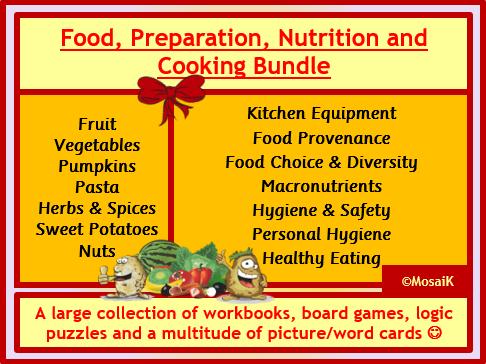 Food Preparation Nutrition Super-BUNDLE
