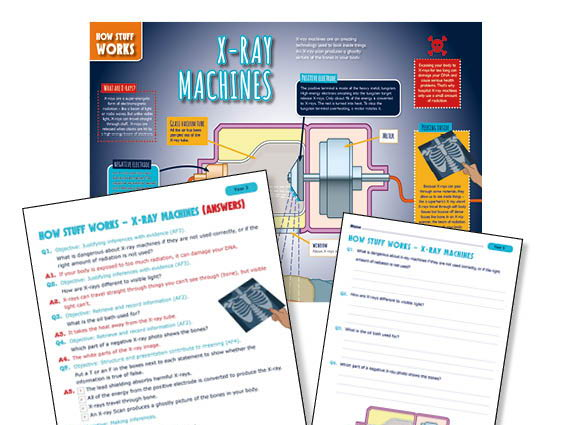 Year 3 X-Ray machines guided reading