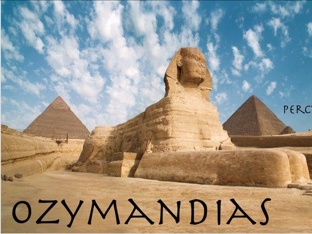 Ozymandias Power & Conflict- AQA Literature Poetry New Spec