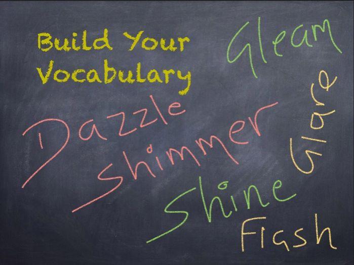 Build Your Vocabulary
