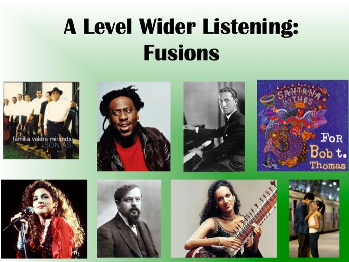 Fusions: Wider Listening Pack