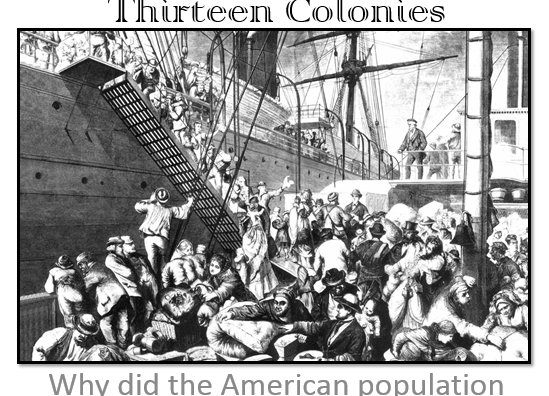 1. The Development of the Thirteen Colonies