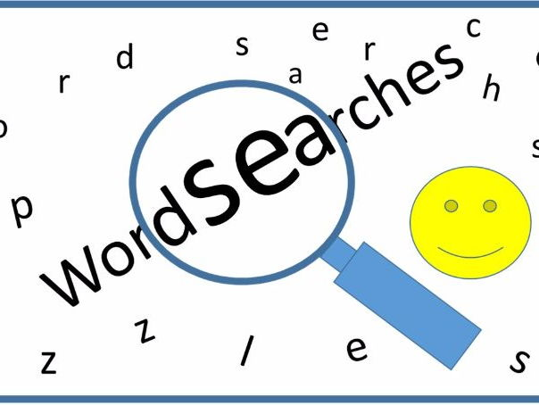 Measurement Word search