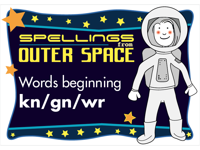 Year 2 Spellings Words beginning KN/GN/WR