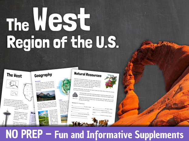 Regions of the United States: The West Region