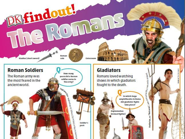Ancient Rome/The Romans KS2 poster
