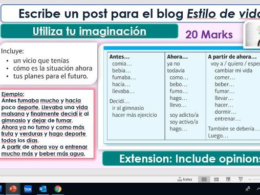 GCSE Spanish Viva Module 8 Vivir a tope