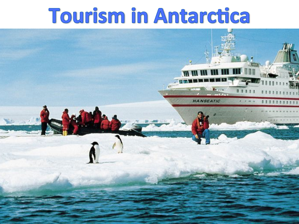 KS3 Deserts - Tourism in Antarctica