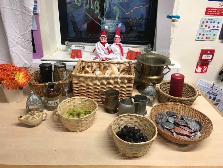 Roman Banquet Shopping List