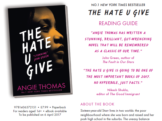The Hate U Give Discussion Guide