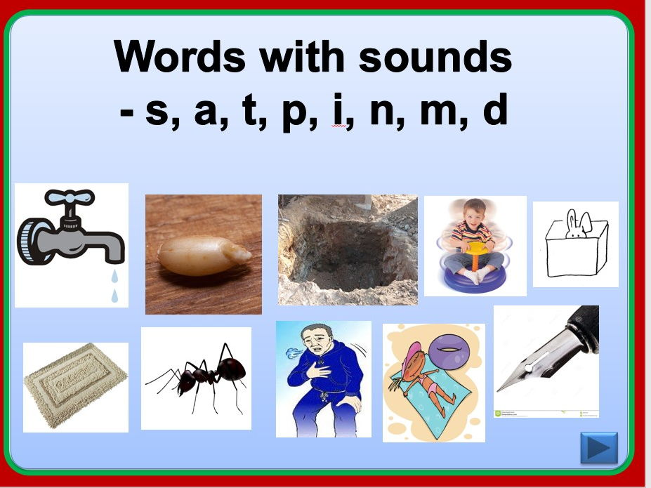 Jolly Phonics Group 1 Interactive Presentation Teaching Resources