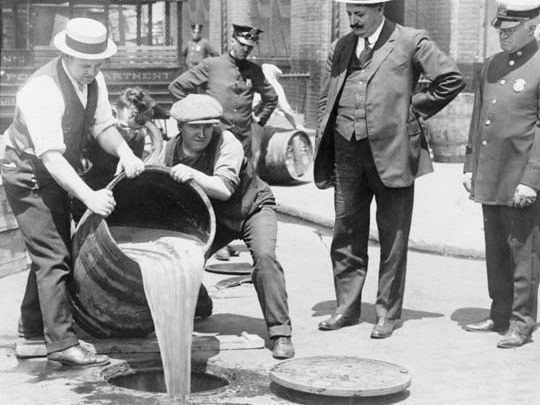 The Causes and Effects of Prohibition on American Society during the 1920's