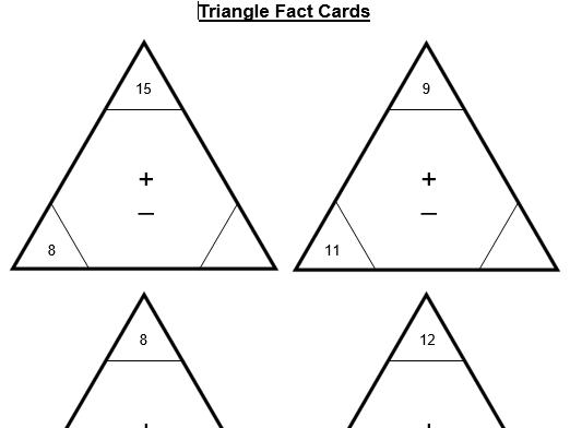 Triangular Cards Resources
