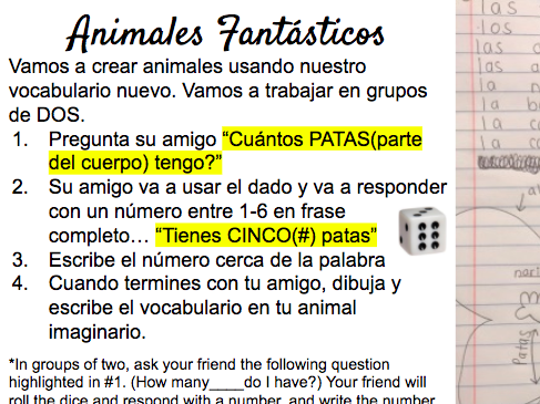 Pets and Animals Spanish Vocabulary - Powerpoint, Readings, and Activities