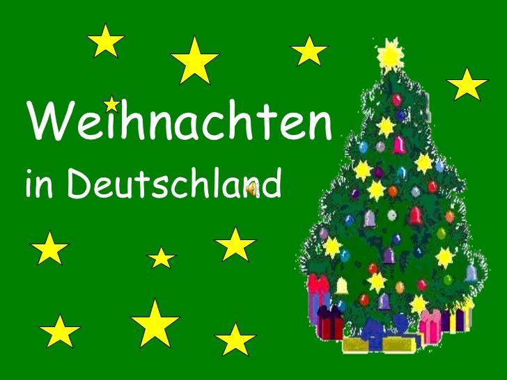 Weihnachten in Deutschland - Kulturecke
