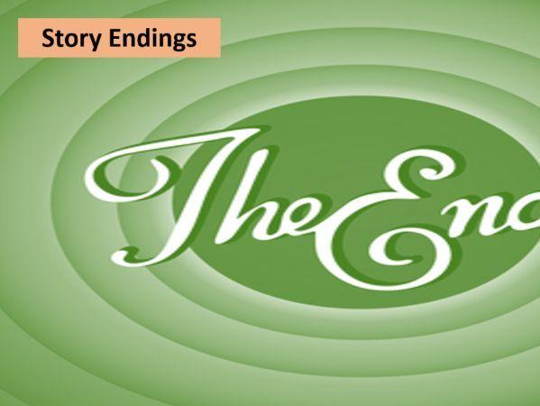 Story endings lesson