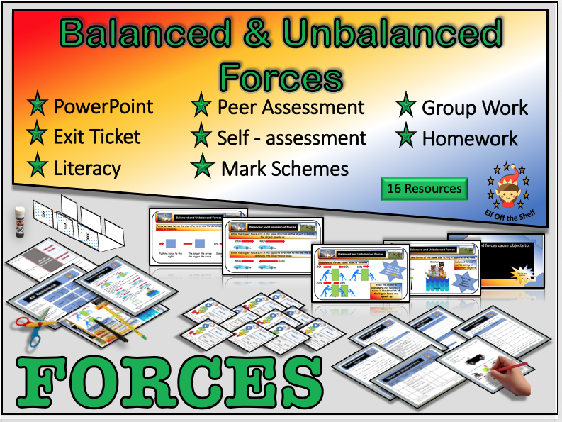 Forces - Balanced and Unbalanced forces KS3