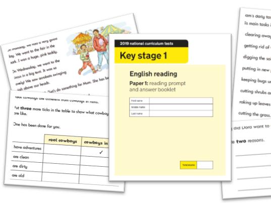 KS1 Reading Question Level Analysis Tool - 2019