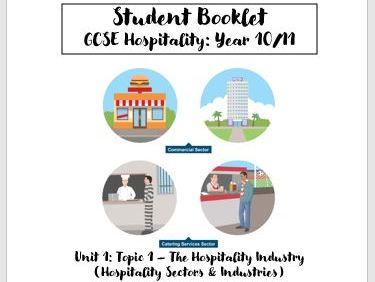 Hospitality - Front Office & Other Departments