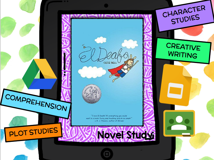 El Deafo Novel Study FREEBIE