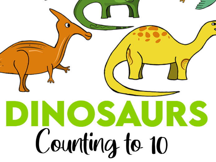 Dinosaurs Counting to 10