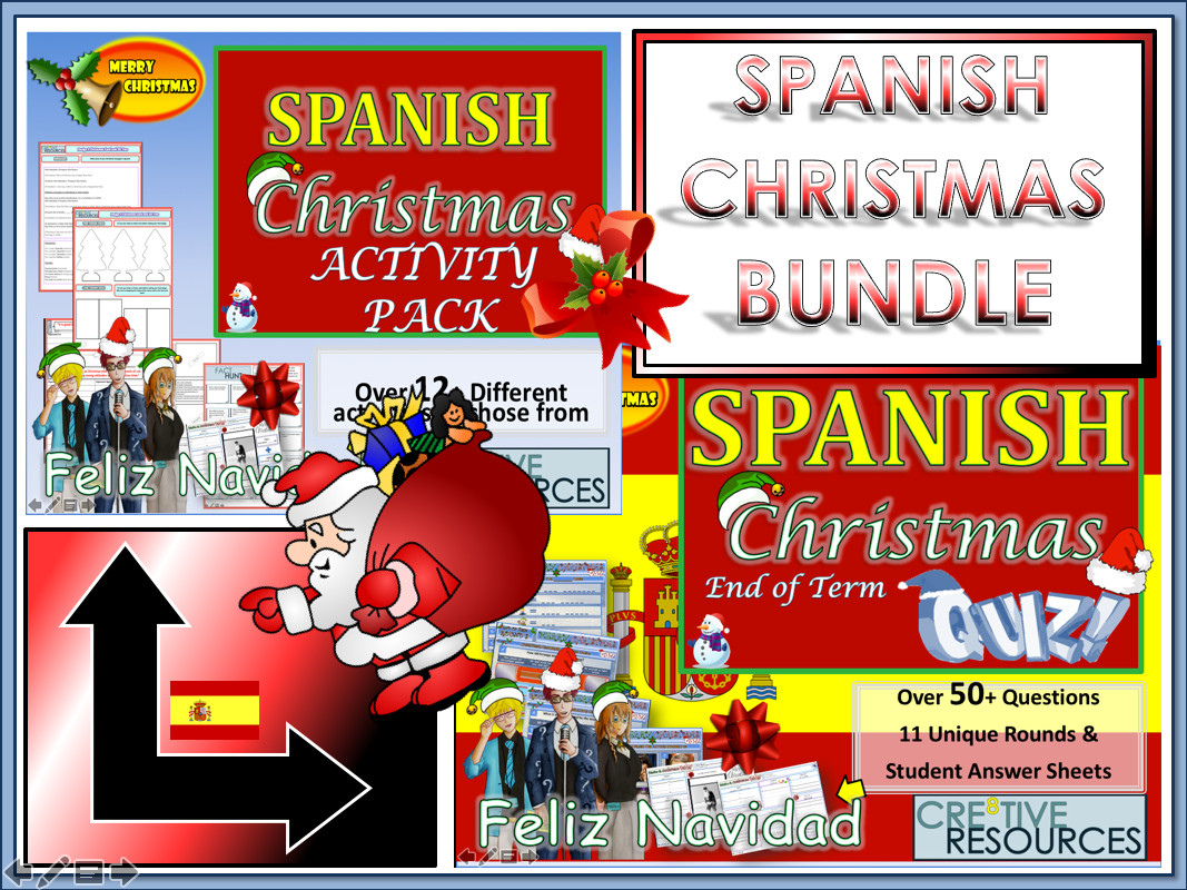 Spanish Christmas Resources