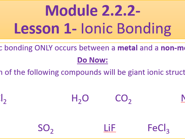 A Level Chemistry OCR A Module 2.2.2