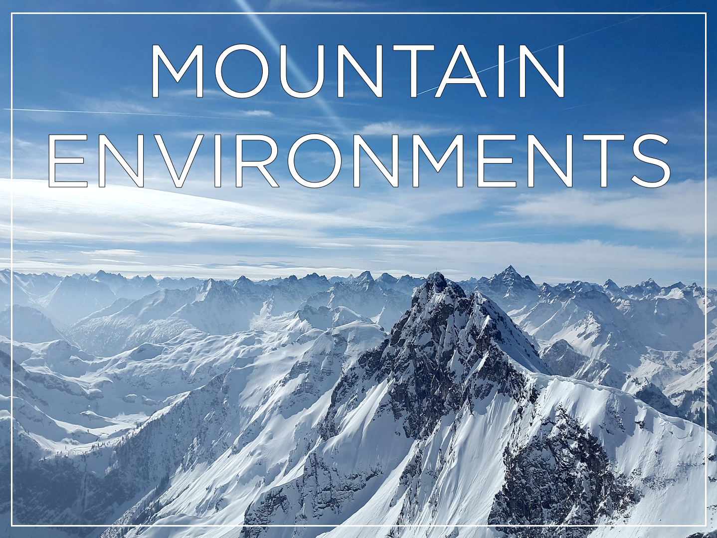 Mountain Environments - KS2