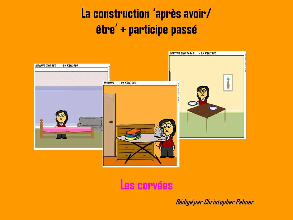 French: Après avoir/être/s'être + past participle construction