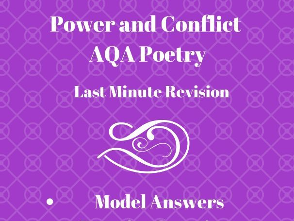 A* Power and Conflict  Model Answers: GCSE Anthology Revision Pack