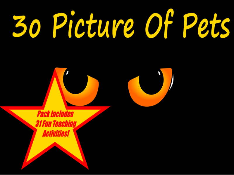 30 Pictures Of Pets Presentation + 31 Fun Teaching Activities For These Cards