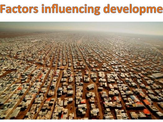 KS3 Development - Factors influencing development