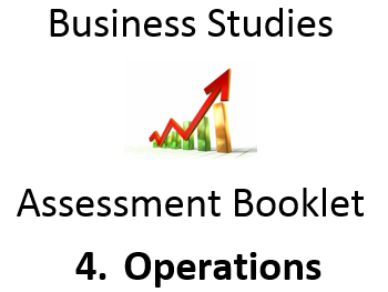 BUSINESS Assessment: 4 Operations - GCSE Homework Booklet