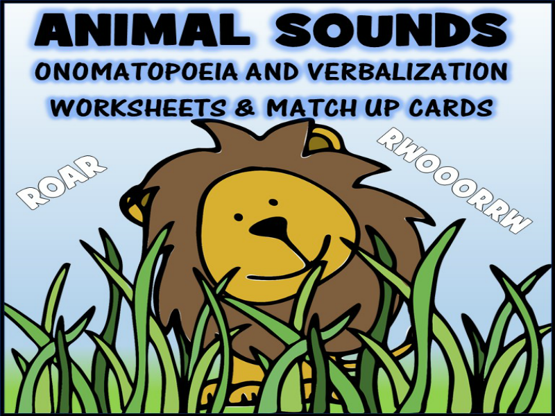 Animal Sounds Worksheets