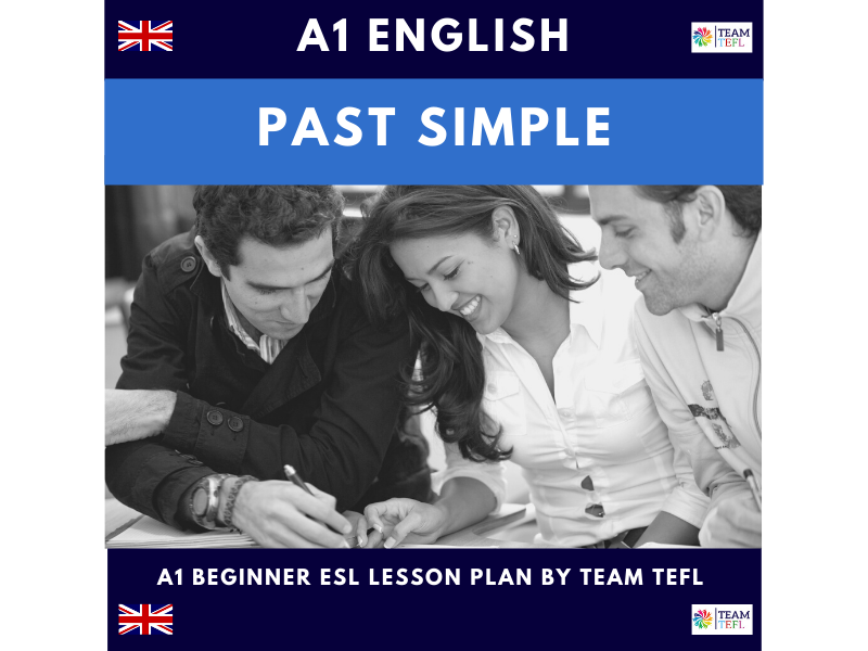 Past Simple A1 Lesson Plan | Distance Learning | Google Apps