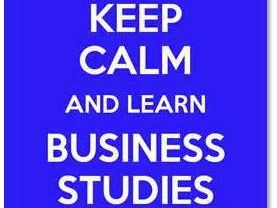 OCR GCSE Business 2017 Spec Homework booklet  -  Unit 1: Business Activity